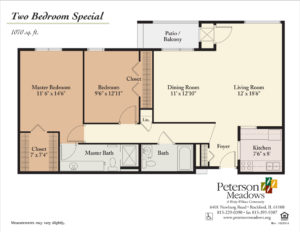 Peterson Meadows Apartments Senior Community Living In