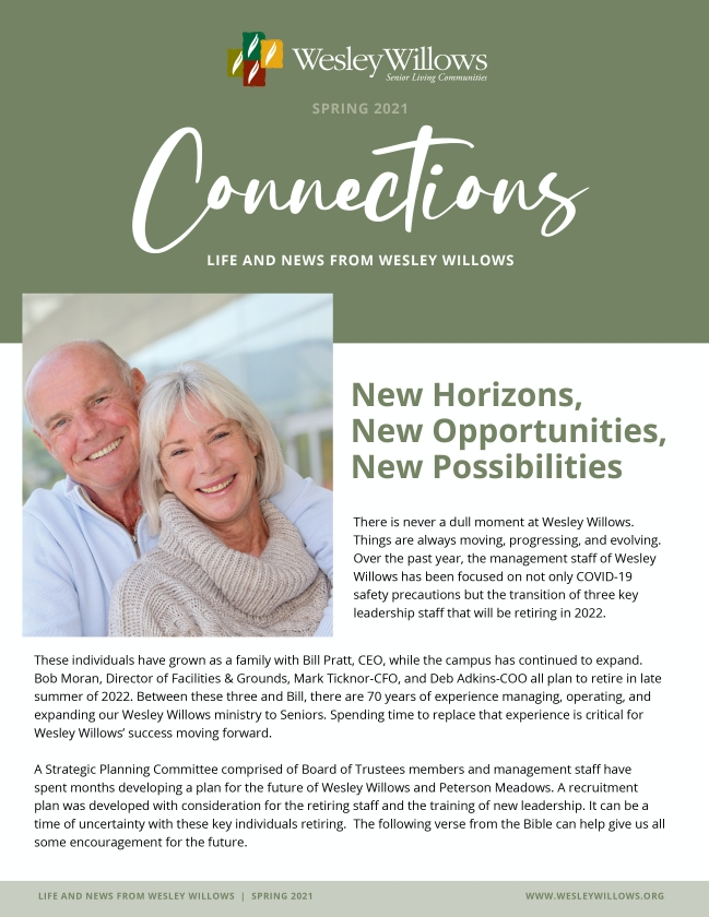Image of cover of Fall 2020 Newsletter